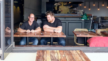 Blake Street Merchant co-owners Nathan McQuade and Navarre Top.