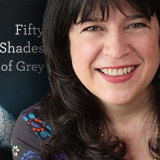 From self-published author to mega bestseller, E.L. James of Fifty Shades of Grey.