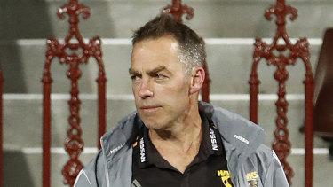 Hawks coach Alastair Clarkson.