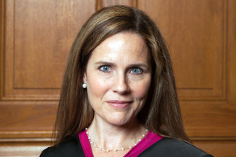 Amy Coney Barrett met with US President Donald Trump this week, ahead of his nomination for a judge to replace Ruth Bader Ginsburg in the Supreme Court.