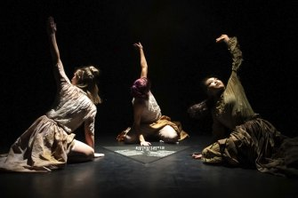 Moth, part of the Dancehouse triple bill, conjures images of mystery and longing.