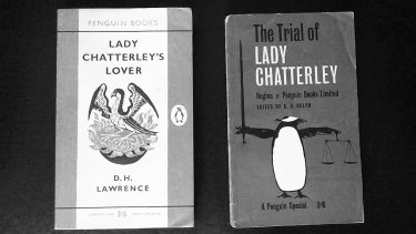 Lady Chatterley's Lover and The Trial of Lady Chatterley - two books banned in Australia in 1965.