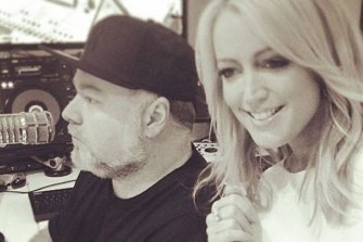 On top: Jackie Henderson and Kyle Sandilands are the toast of FM breakfast.