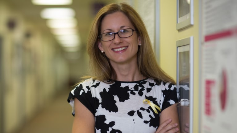 Sarah Holdsworth-Carson is an endometriosis researcher atthe Royal Women's Hospital in Melbourne.