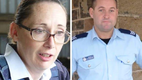 Leading Senior Constable Helen McMurtie and Sergeant Mark Johnston were both shot on Friday night in Glenn Innes.