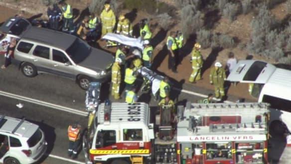 Indian Ocean Drive horror crash: Driver suffered 'traumatic cardiac arrest'