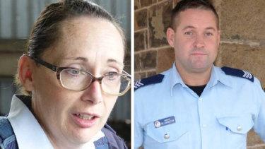 Leading Senior Constable Helen McMurtrie and Sergeant Mark Johnston were both shot on Friday night in Glenn Innes.