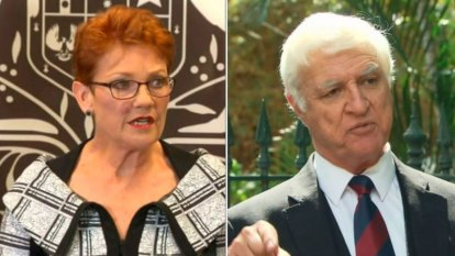 Hanson, Katter form alliance, announce 'drought tour'