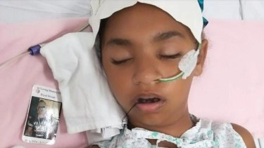 Denishar Woods suffered a catastrophic brain injury from an electric shock.