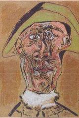 Pablo Picasso's Tete d'Arlequin.