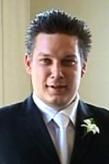 Jonathan Dick at a friend's wedding in 2007.