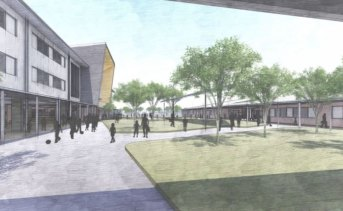 The new school to be built at North Maclean, near Logan, announced by Education Queensland.