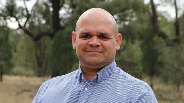 Phil Naden, one of two independents running for Barwon, says stopping CSG is a priority issue.