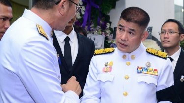 Thai minister Thammanat Prompao was jailed on drug charges in Australia.
