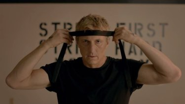 William Zabka reprises his role as Johnny Lawrence for the Karate Kid TV spin-off Cobra Kai.