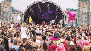 About 11,000 people have attended the Lost Paradise music festival, which runs until Tuesday.