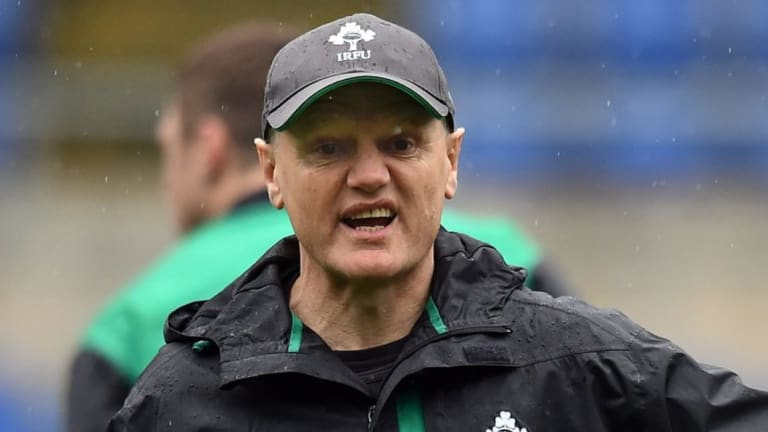 The wonderful inspiration: Joe Schmidt has been an incredible unit.