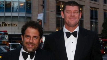 c72cbee65c Hollywood film producer Brett Ratner and James Packer together in Sydney in  2013.