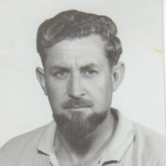 """Ronald """"Dixie"""" Lee in his mid-20s in the late 1940s."""