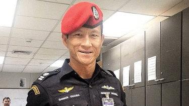 Former Thai Navy SEAL Saman Gunan died during the rescue operation.