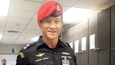 Former Thai Navy SEAL Saman Gunan died during the rescue operation.