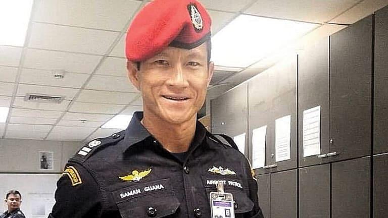 Former Thai Navy Seal Sgt Saman Guana.