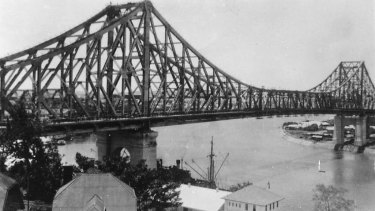 Brisbane's Story Bridge was built between 1935 and 1940 and has never been repainted.