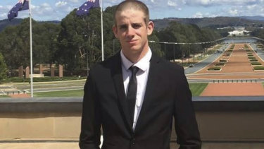 Liam Wolf  died in hospital after he was involved in an incident at an army recruit training centre in the NSW Riverina region. Source: Facebook