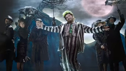 'It's my Broadway baptism of fire': Eddie Perfect's Beetlejuice gets bumped