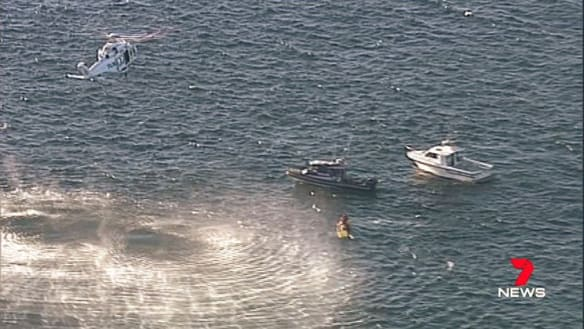 Man dies after falling from cliff into ocean in southern Sydney