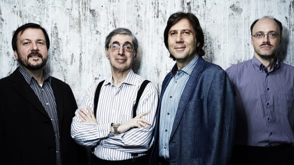 Fab four offer a calm approach to chamber classics