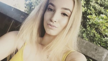 Larissa Beilby, 16, was reported missing from Sandgate two weeks ago.
