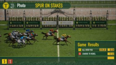 The government's plan to sell the TAB will includes the ability for betting shops to racing simulation games such as Trackside.