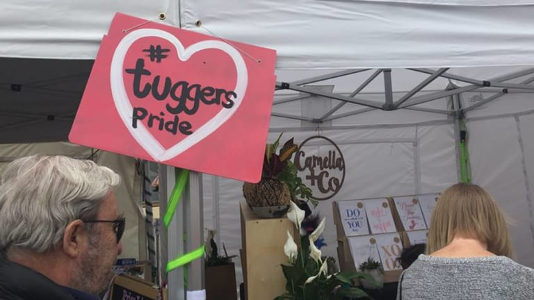 #TuggersPride was on show at SouthFest in Tuggeranong last Saturday.