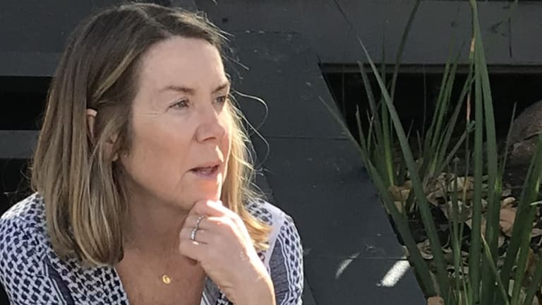 Linda Taemets claims $100k has been wiped off the value of her property after her home was shifted out of the Brisbane State High School catchment zone.