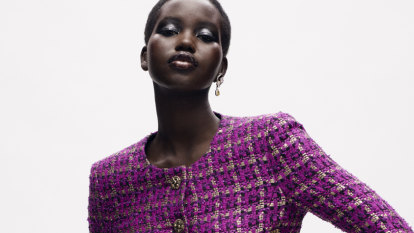 Lockdown to luxe: Australian Adut Akech stars in historic Chanel show