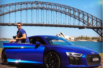 The $390,000 Audi Caddick bought Koletti.