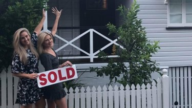 Brisbane friends Lucy Dixon and Penny Washington bought a house together after realising they couldn't afford to buy alone.