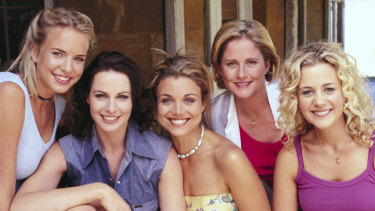 The cast of McLeod's Daughters.
