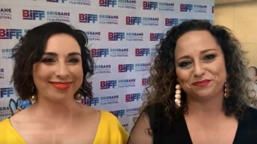 Like A Photon Creative co-chief executive officers of digital Kristen Souvlis and Nadine Bates at the premiere of The Wishmas Tree at Brisbane International Film Festival 2019.