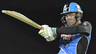 Pivotal: Travis Head of the Adelaide Strikers.
