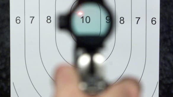 Queensland pistol range fined over lead poisoning