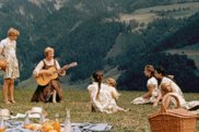GIF of picnics in the movies