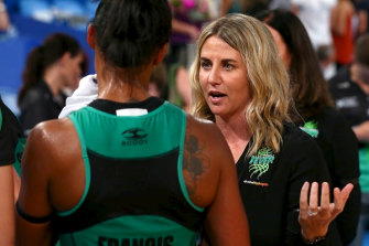 Stacey Marinkovich will finish the Super Netball campaign with West Coast before taking the Diamonds' top job.