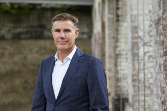 Geoff Lucas, the new CEO of The Agency
