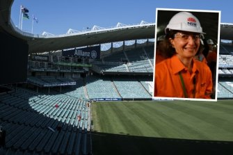 Allianz Stadium, as it was, and Premier Gladys Berejiklian, who knocked it down.