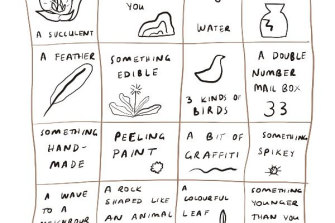 Makeshift provides a range of creative programs that help people who are sad, lonely or need time out of a busy day.  Often they recommend walking bingo.