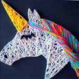 String art will be a highlight at Artspace this school holidays.