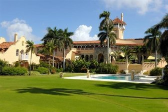 Donald Trump's Mar-a-Lago Club in Palm Beach.