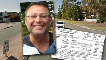 Payam Golestani spent about four years challenging a $400 speeding fine he says was meant for the car next to him.